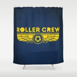 Roller Crew Shower Curtain