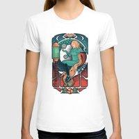 nouveau T-shirts featuring Aran Nouveau by Victor Vercesi