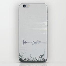 Misty Morning on the Clarence (1994) iPhone Skin