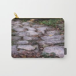 Follow the Gray Stone Road Carry-All Pouch