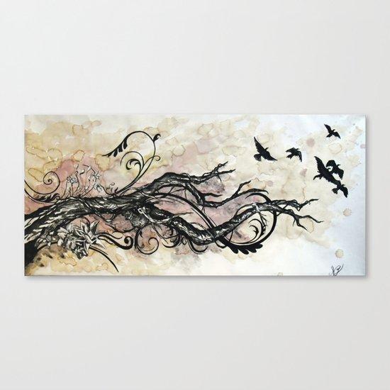 deviation1 Canvas Print