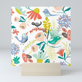 Gracie's Garden Mini Art Print