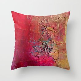 Speaking in Leaves Throw Pillow