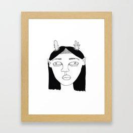 Elf #3 Framed Art Print