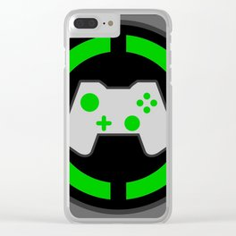 Xbox Gamer Clear iPhone Case