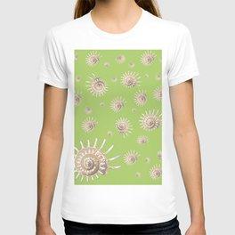solaris on lime T-shirt