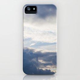 Sky 01/20/2014 17:13 iPhone Case