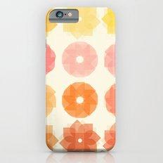 Geometric Flowers iPhone 6s Slim Case