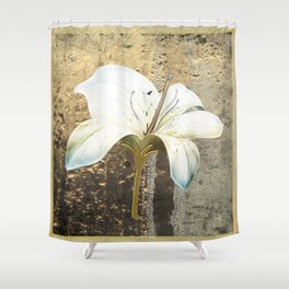 Midas Lily Shower Curtain