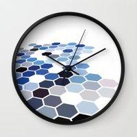 alaska Wall Clocks featuring Alaska by Bakmann Art