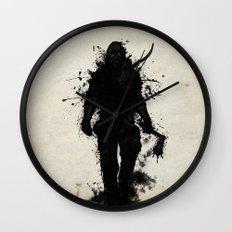 Apocalypse Hunter Wall Clock