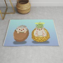 Kiwi & Pineapple Rug
