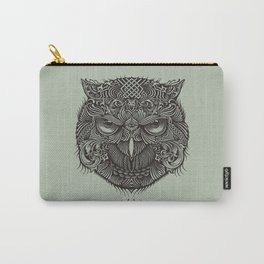 Warrior Owl Face Carry-All Pouch