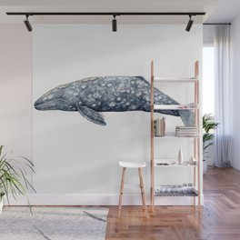 Grey whale Wall Mural