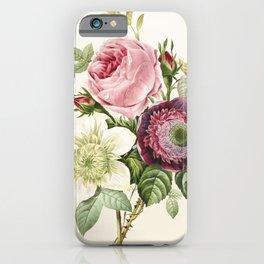vintage bouquet iPhone Case