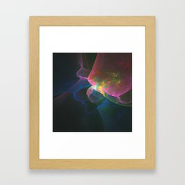 Colored Abstract Framed Art Print