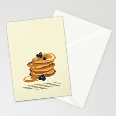Fluffy Pancakes Stationery Cards
