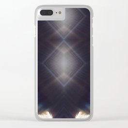 Divine Light Clear iPhone Case