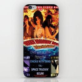 Vixen Highway 2006: It Came from Uranus! (2010)'. – Movie Poster iPhone Skin