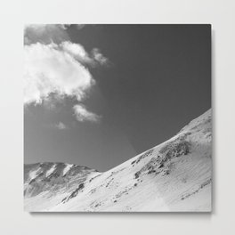 Colorado Mountain Ridge Metal Print