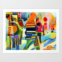 City Life I Art Print