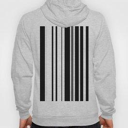 Black and white stripes 1 Hoody