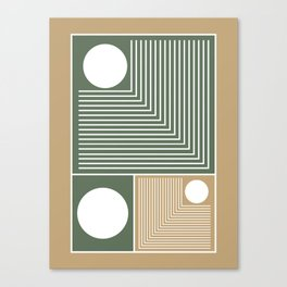 Stylish Geometric Abstract Canvas Print