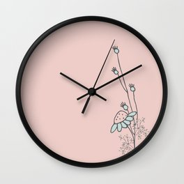In the Spring Wall Clock