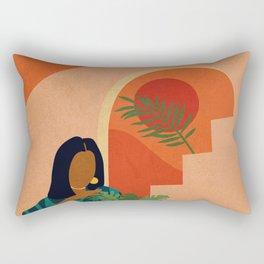 Stay Home No. 8 Rectangular Pillow