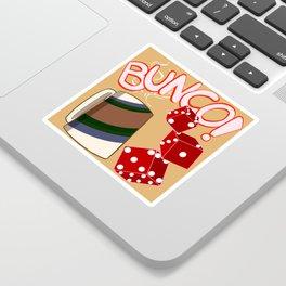 Bunco Brunch Sticker
