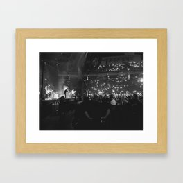 Finish Ticket Framed Art Print