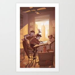 Kavalier & Clay Art Print