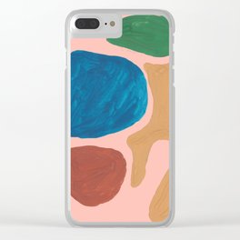 17      Imperfection   190325 Abstract Shapes Clear iPhone Case