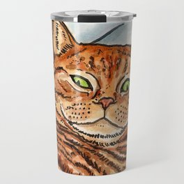 Ginger Cat Travel Mug