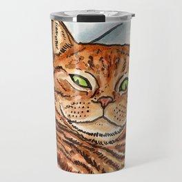 Ginger Cat Travel Mug