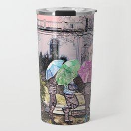 3 Umbrella's! Travel Mug