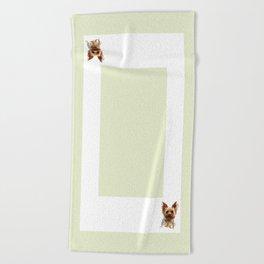 It's A Yorkie Beach Towel