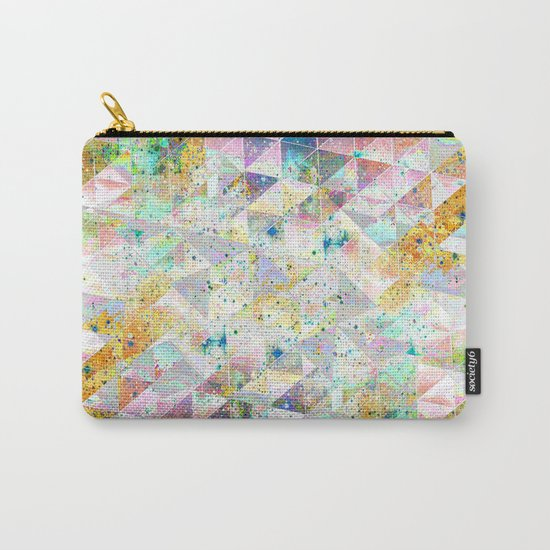 SIMPLY GEOMETRIC Carry-All Pouch