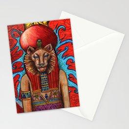 Memphite Triad by Nefertara Stationery Cards