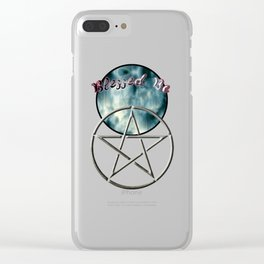 Blessed Be Clear iPhone Case