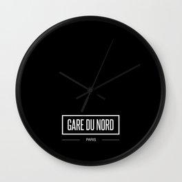 Gare du Nord Wall Clock