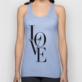 LOVE IS SWEET, Love Sign,Love Art,Wedding Decor,Anniversary Quote,Love Symbol,Love you more Unisex Tank Top