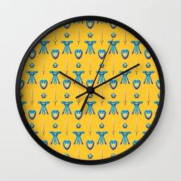 Erdrick's Equipment - Yellow Wall Clock
