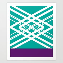 Structured Flight Art Print