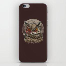 Zombie Owl iPhone Skin