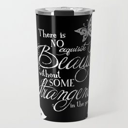 Strange Skullerflies - EA Poe Quote Travel Mug