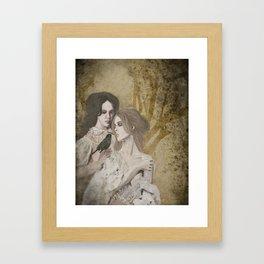 Sœurs de la Nuit Framed Art Print