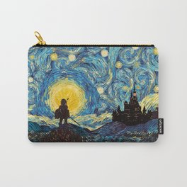 triforce warrior link starry night iPhone 4 5 6 7 8, pillow case, mugs and tshirt Carry-All Pouch