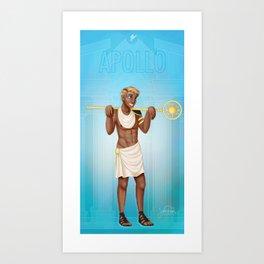 Greek Gods - Apollo Art Print