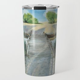 Bridge To Beach Travel Mug